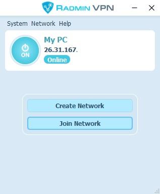 Radmin VPN full screenshot